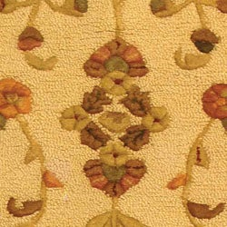 Safavieh Handmade Fable Cream New Zealand Wool Runner (2'3 x 8') - Thumbnail 1