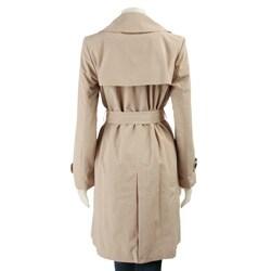 London Fog Women's Short Trench Coat