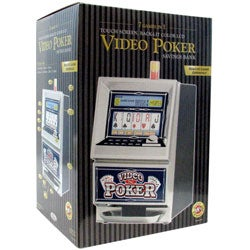 Touch Screen Video Poker with Bank