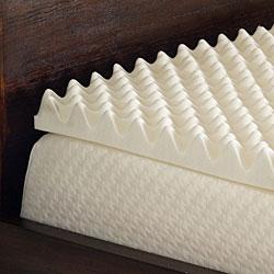 Comfort Dreams Highloft 2-inch Memory Foam Mattress Topper - Thumbnail 1