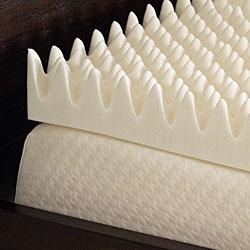 Comfort Dreams Highloft 4-inch Memory Foam Mattress Topper - Thumbnail 1