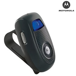 Motorola T305 Bluetooth Car Kit with Bonus Charger (Bulk Packaging) - Thumbnail 1