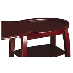 ... Cherry End Table With Swivel Extension ...