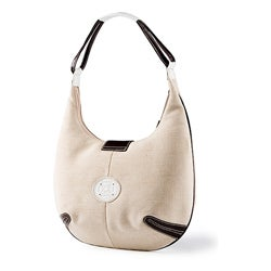 Stone Mountian Morgan Linen Hobo Bag - Thumbnail 1