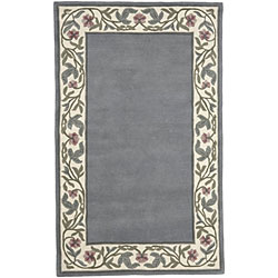 Hand-tufted Regal Collection Wool Rug (9' x 13') - Thumbnail 1