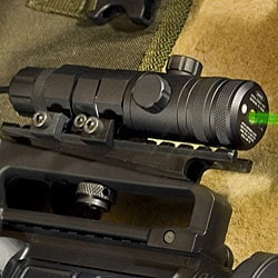 Barska Green Laser Sight W/ Picatinny Rail, 5Mw - Thumbnail 1