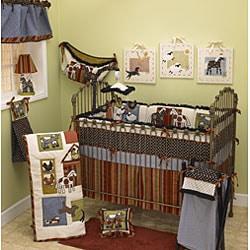 Shop Cotton Tale Barn Dance 4 Piece Crib Bedding Set