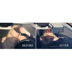 Sun Zapper Innovative Dual-lens Glare Shield