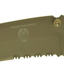 Police Task Force Tactical Knife - Thumbnail 1