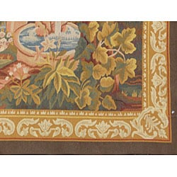 Chinese French-style Rug (4'4 x 7') - Thumbnail 1
