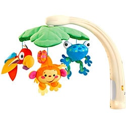 fisher price rainforest mobile instructions