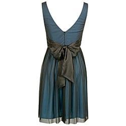 Onyx Nite Women's Matte Chiffon Evening Dress