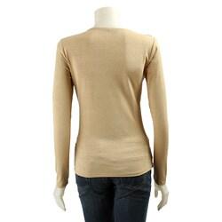 One West New York Women's Metallic Shirt