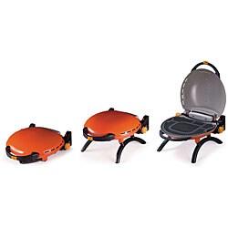 O-Grill 3000 Orange Portable Propane BBQ Grill