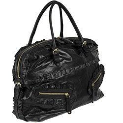 Gucci 'Sabrina' Black Leather Boston Bag - Thumbnail 1