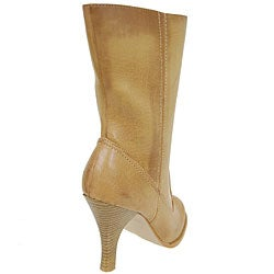 Anne Michelle by Journee Mid-calf High Heel Boots - Thumbnail 1