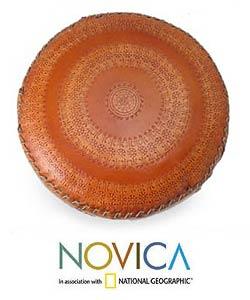 Murano 'Fire Centerpiece' Hand-blown Bowl (Brazil)