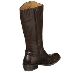 Biviel Women's 'BV1008' Low-heel Riding Boots - Thumbnail 1