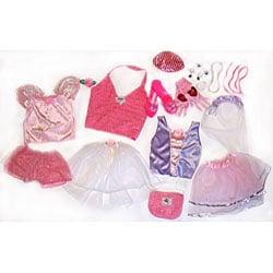 Princess Glamour Dress Up Trunk Play Set - Thumbnail 1