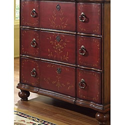 Large Chest with Hand-painted Motif