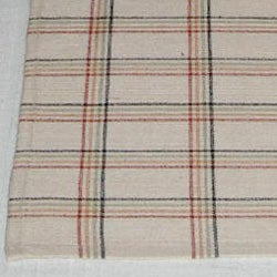 Pair of Hand-woven Cotton Table Runners (India) - Thumbnail 1