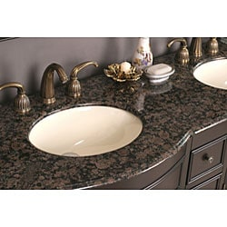 Katrina 72-inch Double Sink Bathroom Vanity - Thumbnail 1