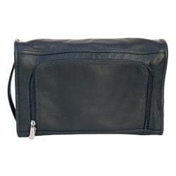 Piel Top Grain Leather Large Half-moon Utility Bag - Thumbnail 1