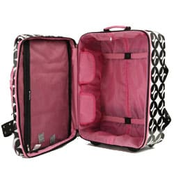 Shop Hurley Upright Wheeled Carry-on Suitcase - Free Shipping Today ... 12a8139b3