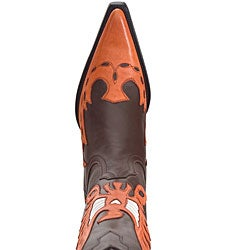 Lane Phoenix Burnt Orange Women's Cowboy Boots - Free Shipping ...