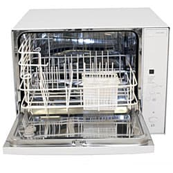 Koldfront White Portable Countertop Dishwasher - Free Shipping Today ...