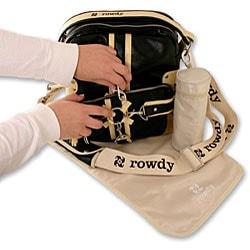 The Rocker Convertible Diaper Bag in Black