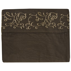 Platinum Collection 400 Thread Count Embroidered Sheet Set - Thumbnail 1