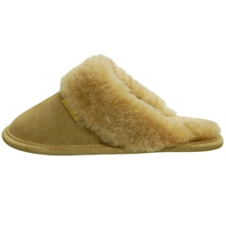 fade55a4747 Shop Brumby Women s Backless Sheepskin Slippers - Free Shipping On Orders  Over  45 - Overstock - 3572506