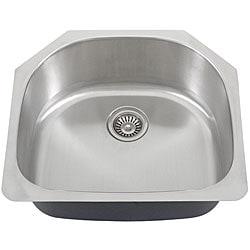 Ticor Stainless Steel 16-gauge Undermount Kitchen Sink - Thumbnail 1