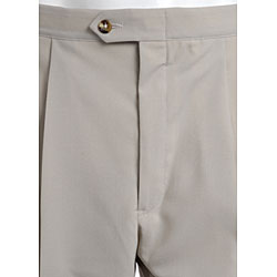 Sansabelt Men's Two Pleat Beltless Pants - Thumbnail 1