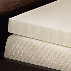 Comfort Dreams Ultra Soft 3-inch Queen/ King-size Memory Foam Mattress Topper - Thumbnail 1