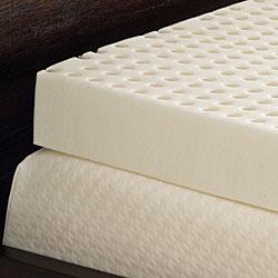 Comfort Dreams Ventilated 4-inch Memory Foam Mattress Topper - Thumbnail 1