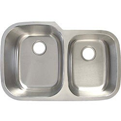 Ticor Stainless Steel 16-gauge Undermount Kitchen Sink - Thumbnail 1
