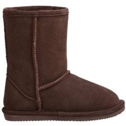 Bearpaw Children's Flat Sole Shearling Boots - Thumbnail 1
