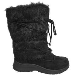 Shop Glaze By Adi Women S Faux Fur Boots Free Shipping