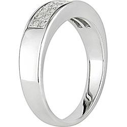 Miadora 14k Gold 1/2ct TDW Princess-cut Diamond Ring (G-H, I1-I2)