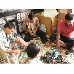 Metal 'Seven Bells Ringing' Nana Bells, Handmade in India
