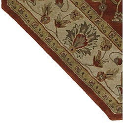 Hand-tufted Camelot Oriental Wool Rug (8' Octagon) - Thumbnail 1