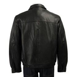 Chaps Men's Leather Jacket