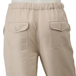 FINAL SALE M. Gordon Men's Linen Drawstring Pants - Free Shipping ...