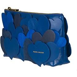Marc Jacobs Blue 'Love Story' Clutch - Thumbnail 1