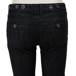 Kasil Women's 'Broadway' Dark Wash Jeans - Thumbnail 1