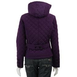 Calvin Klein Women's Hooded Quilt Jacket - Thumbnail 1