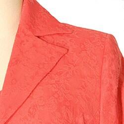 Austin Reed Women's Plus Size Jacquard Blazer - Thumbnail 1