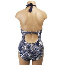 Anne Cole Women's 'The Vineyard' Toile 1-piece Swimsuit